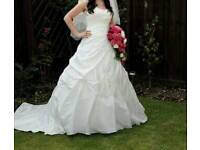 Ivory Wedding Dress Sweetheart Style 5968 Fantastic Condition Worn Once