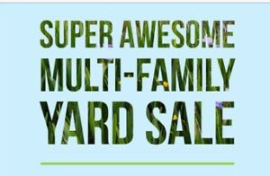 Multi Family Yard Sale Sat. Aug 4, 9:00-2:00pm