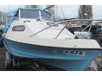"Boat:- Shetland 535 ""Suntrip"", 17½ ft long, GRP"