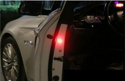 2 Wireless Car Door LED Safety Warning Light Strobe Lights for Anti Collision