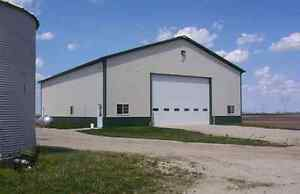 40' x 60' - 18' Deluxe Studwall Insulated Turn Key Shop