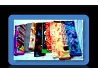 SELECTION OF LADIES SCARVES - 11 ITEMS - FOR SALE