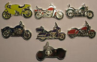 1 dollar Somalia 2007 coin set MOTORCYCLES silverplated