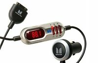 Monster - Icarplay Wireless Plus Fm Transmitter/Charger for Ipod