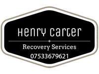 CAR RECOVERY SERVICE / TRANSPORT SERVICE / BREAKDOWN COPART 24/7 NAT-WIDE / EBAY COLLECTIONS / BIKE