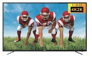 RCA 65 INCH 4K UHD LED TV. RESOLUTION: 3840 X 2160. NEW IN BOX. CLEARANCE SALE $599.00  NO TAX