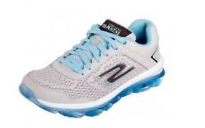 Skechers Women's Go Air Running Shoe Grey/Blue