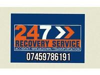 Adm cheap car bike van recovery breakdown accident service 24/7