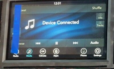 2018 2019 Jeep Grand Cherokee UConnect 4  7 inch Screen RADIO-MULTI MEDIA for sale  Troy