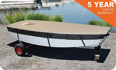 Custom Fit LASER Sail Boat OEM Cover Sunfish Deck Cover / Mast Up w/Boom Pocket