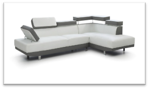 Miami Leather Corner Sofa Capital Hill South Canberra Preview