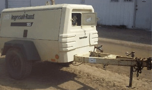 2011 Ingersoll Rand XP 185 Mobile Air Compressor