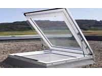 Velux Flat Roof Exit Solution Window - Skylight