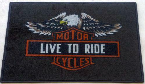 Harley Davidson Rug Ebay