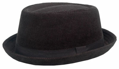 Cool4 CORD PORK PIE HUT VINTAGE SKA Porkpie Hat Rocky Breaking Bad PP06