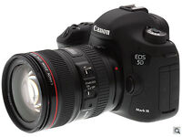 WANTED Canon 5D Mark 3. I need to buy 5D mark III for cash in London
