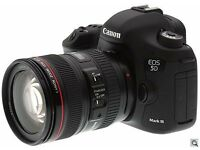 WANTED Canon 5D Mark III 3. I need to buy 5D mark III for cash in London