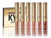 Kylie Jenner Birthday Edition 6 Matte Lipsticks Lip Kit