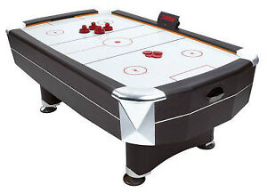 air hockey tables for sale dont have place to keep them