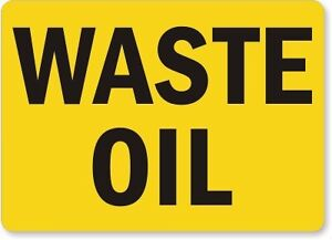 USED OIL WANTED