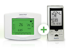Honeywell Peaksaver Plus Touch Screen Programmable Thermostat