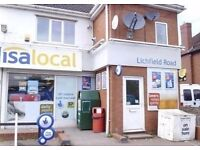 THE LETTINGS SHOP ARE PROUD TO OFFER A LOVELY 1 BED SELF CONTAINED FLAT IN WALSALL, LICHFIELD RD!!
