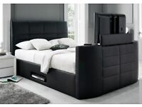 XMAS CASINO 4FT 6IN BLACK TV BED