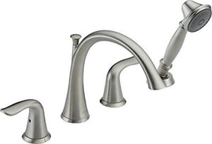 Lahara Roman bath faucet with hand shower