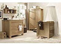 Charnwood 4-piece nursery furniture