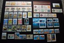 1990 Decimal Issues. MINT, 50 stamps plus 2 mini sheets Hillvue Tamworth City Preview