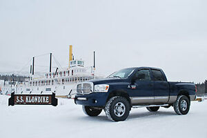 2008 Dodge Power Ram 2500 Silver Pickup Truck
