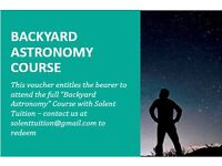 Charity Auction- Just £20 - One of a Kind - Experience course gift - Astronomy Lee on Solent