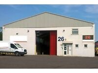 Vacant warehouse. Ideal for motor trade or storage/distribution. 4400sq ft Heathrow