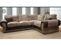 Scs Ashley corner sofa with # FREE FOOTSTOOL