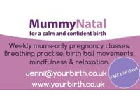 MummyNatal Birth Preparation Courses in Heaton Moor and Hyde. FREE trial class available!