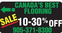 Canada's Best Flooring and Installations 10%-30% OFF