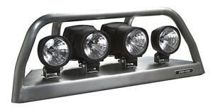 new can-am commander light rack - silver