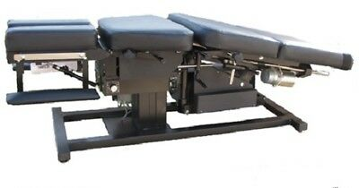 Chiropractic Auto Flexion Table With Pelvic Drop And Free Shipping