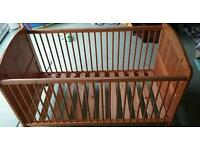 Cot bed with or without mattress
