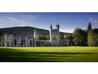 2 x Adult tickets for Balmoral castle