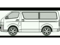 12 Seater Van 4 Hire plus Driver