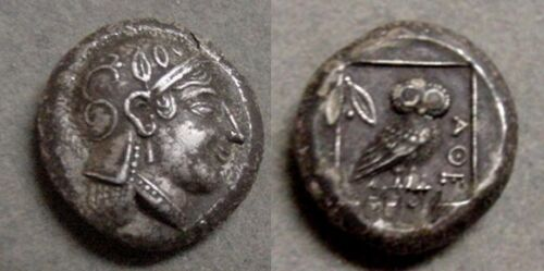 GALLERY MINT FANTASY ANCIENT GREEK OWL COIN