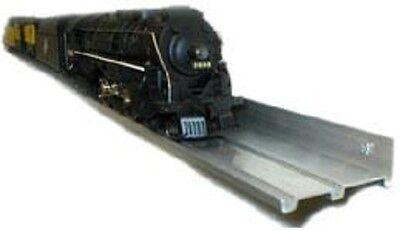 O SCALE TRAIN DISPLAY SHELVES // 5 PACK // Aluminum / Model Railroad