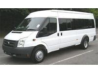16/17 seaters minibus/coach for hire/rent London/Essex/Kent