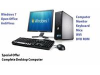 Complete PC computer system EVERYTHING included