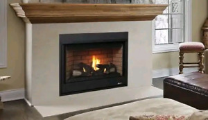 Brand New Fireplace