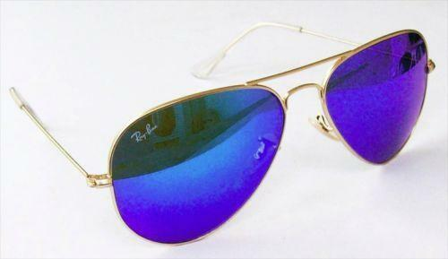 Ray Ban Navy Blue Sunglasses