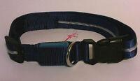 Series 5000 28501 LED USB Dog Collar Blue Large Size