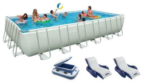 Intex Rectangular Swimming Pool Ebay