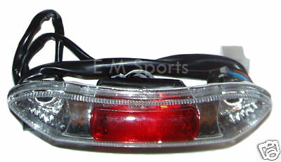 Super Mini Scooter Pocket Bike Parts Tail Light 49cc 50cc 110cc X7 X18 ()
